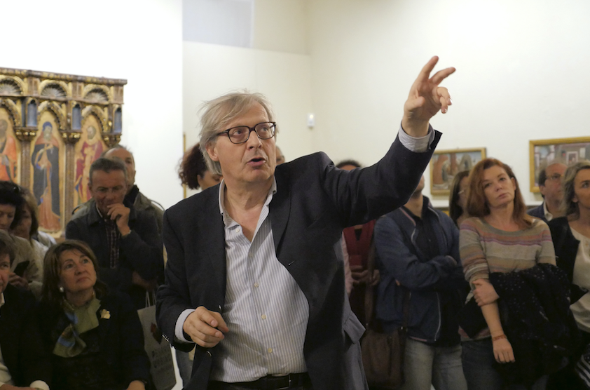 Vittorio Sgarbi's tale of Marche between art and memories