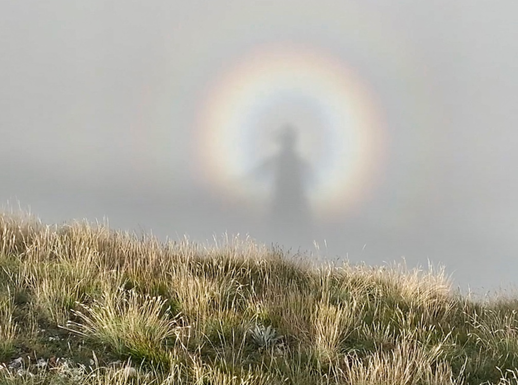 Lo spettro di Brocken sui Sibillini