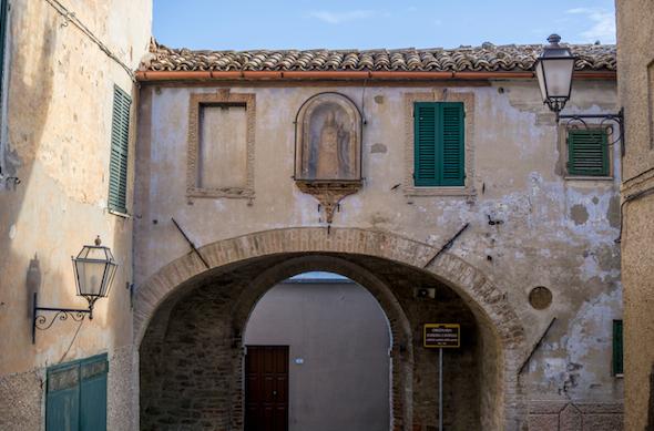 Rosora, il balcone della Vallesina