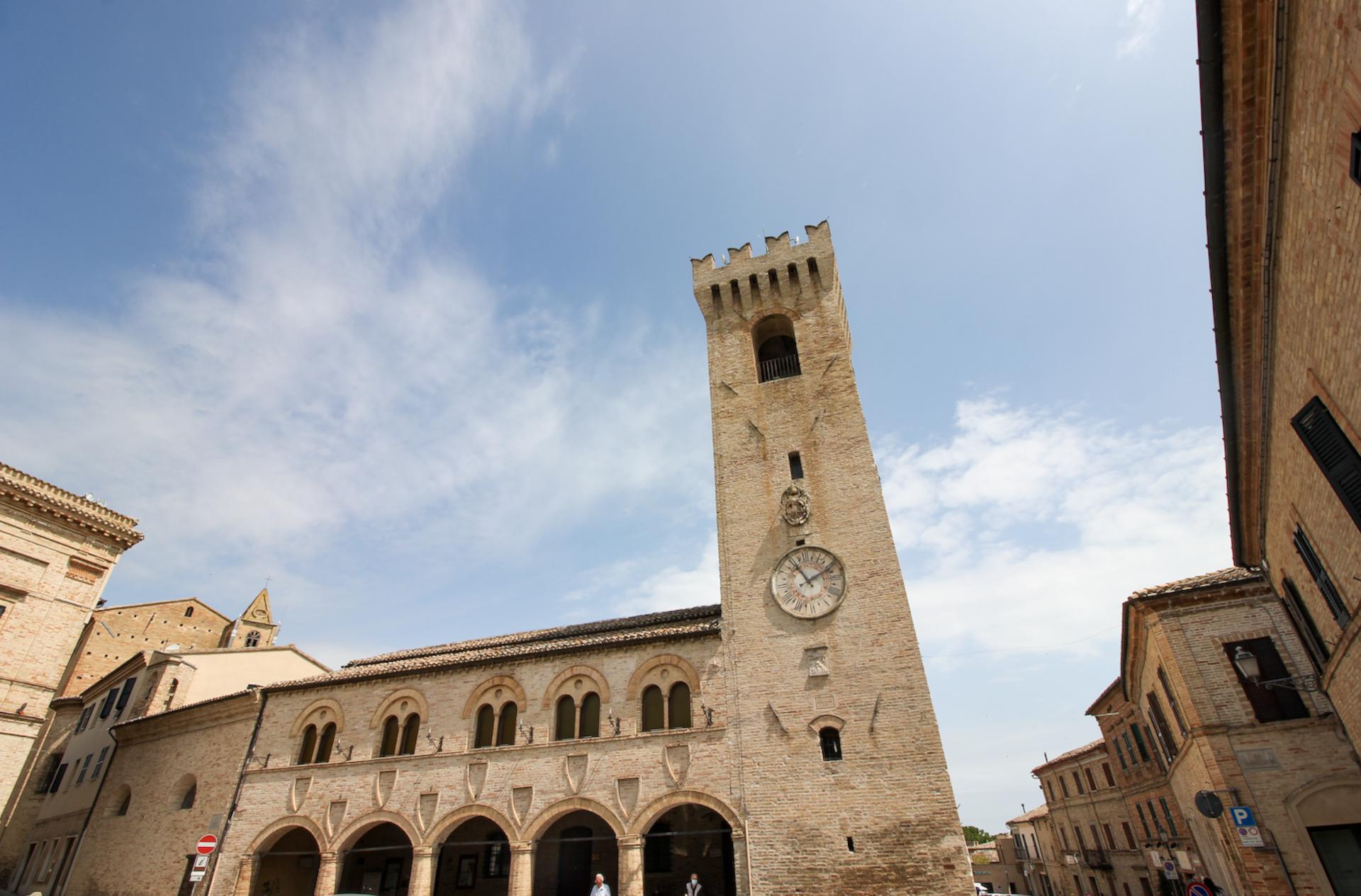 La Torre Civica di Montelupone