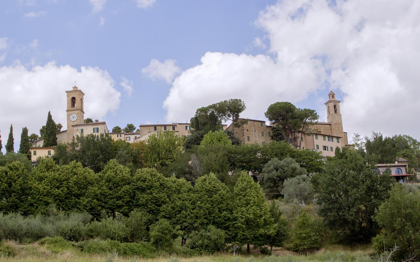 Castelbellino Skyline