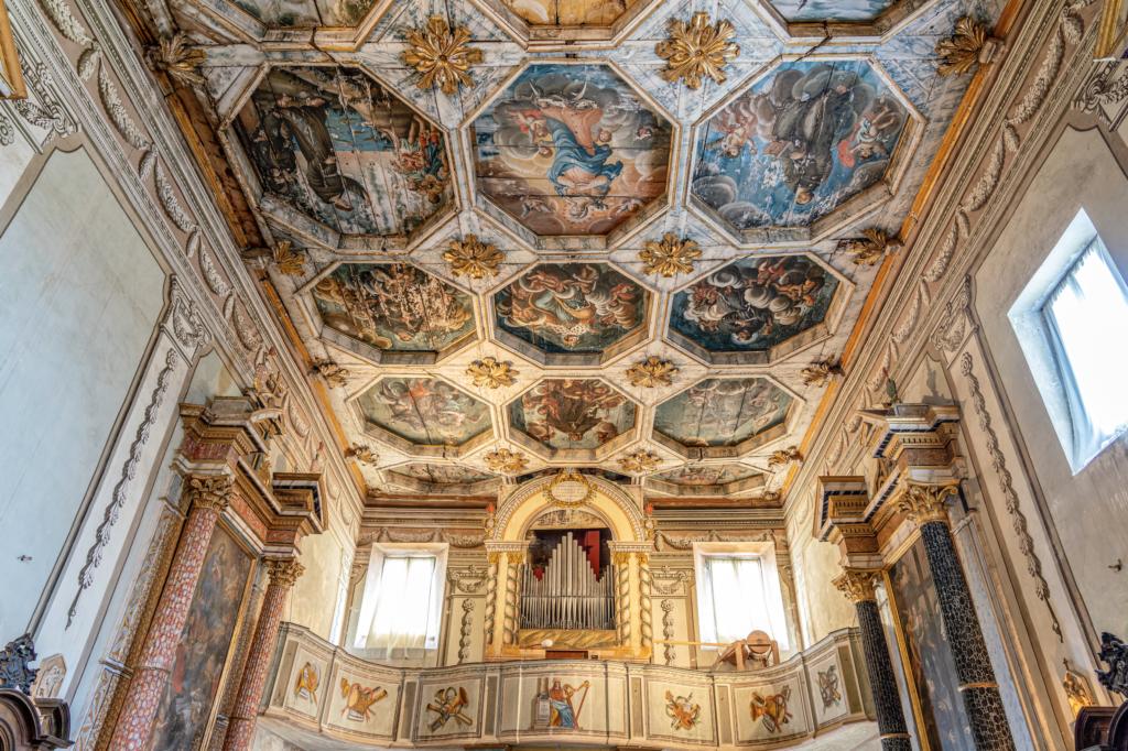 Chiesa di S. Maria dei Martiri_organo