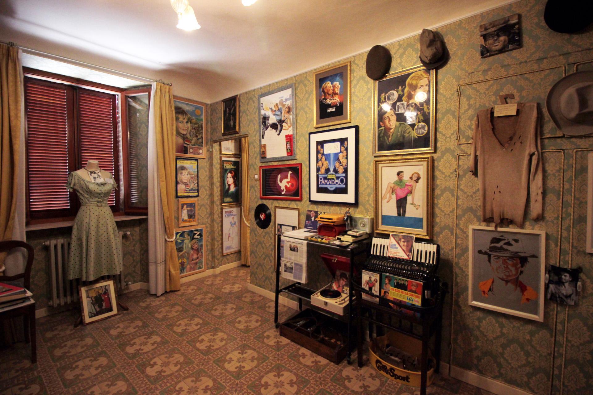 Arte e grande cinema in un museo unico a Montecosaro