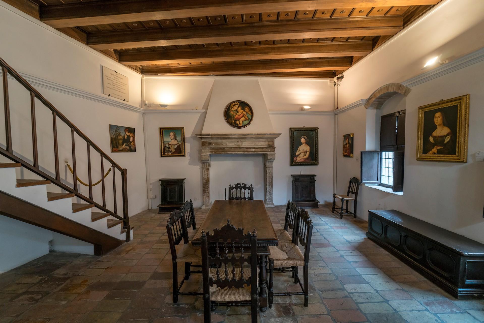 La casa natale di Raffaello a Urbino